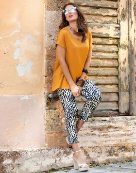 Παντελόνι Diagonal Leopard